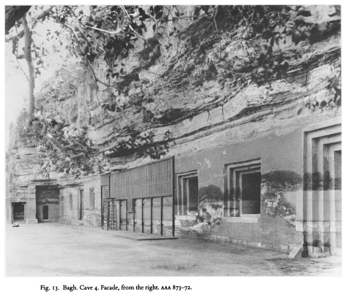An Old Image of Cave No 4 (photo credit in image)